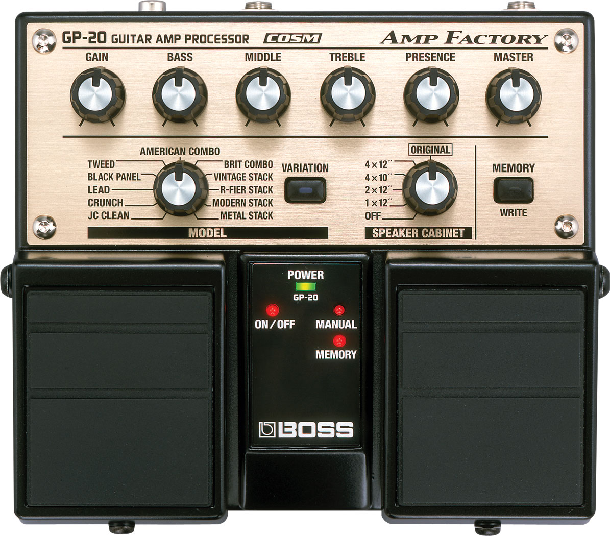 user reviews boss gp 20 amp factory audiofanzine. Black Bedroom Furniture Sets. Home Design Ideas