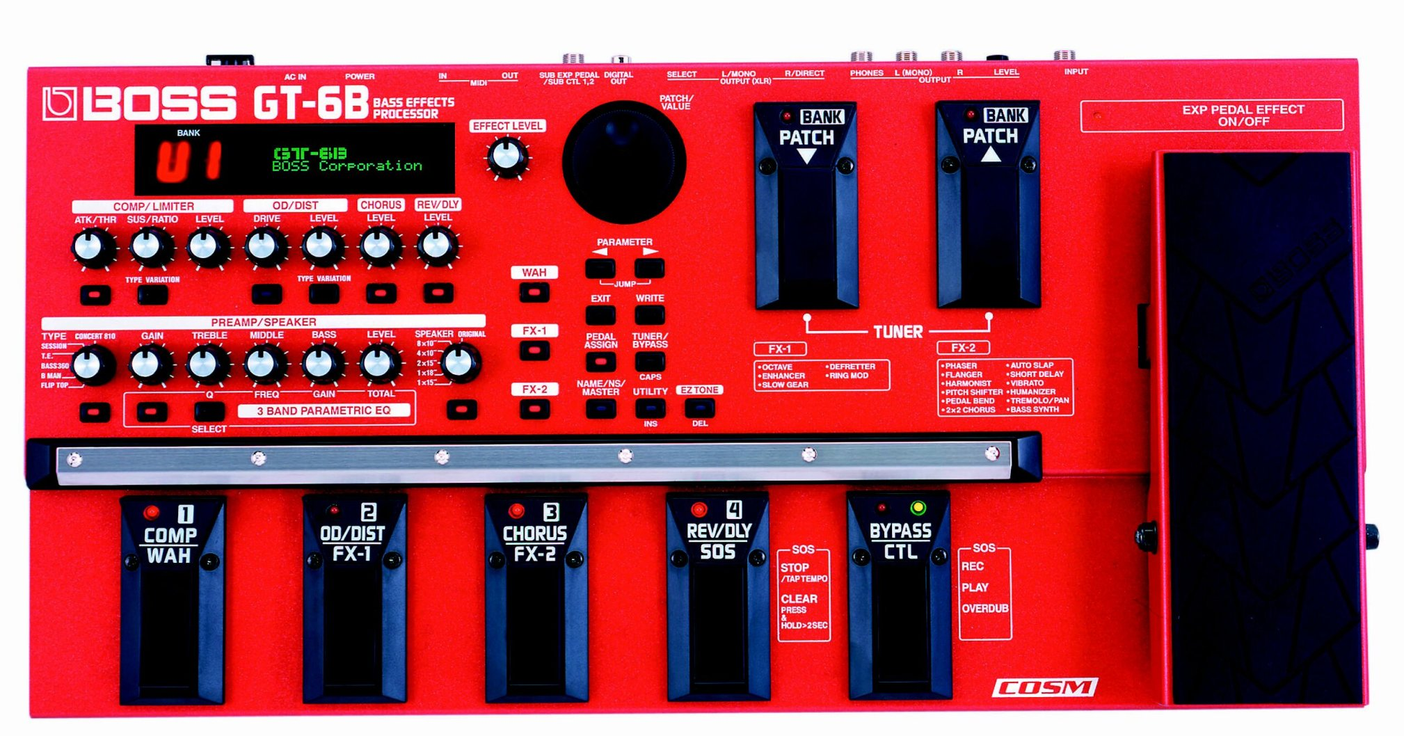 pesson s review boss gt 6b audiofanzine rh en audiofanzine com boss gt 6b bass manual Boss GT 6B Review