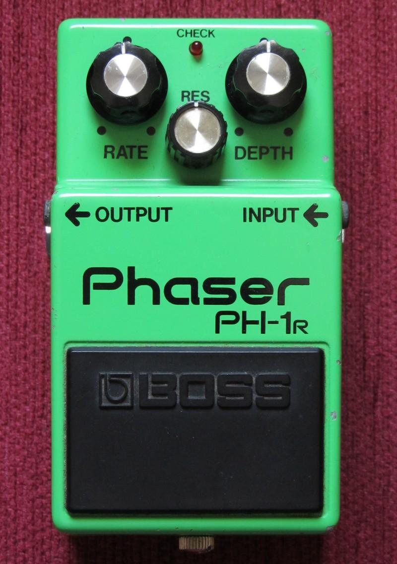 Boss PH-1R PH1R PH 1R Phaser Guitar Effects Pedal KNOB SET
