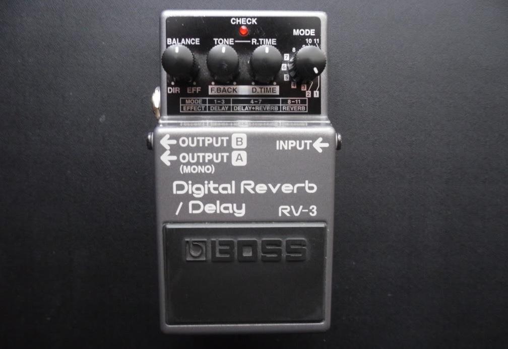 moosers s review boss rv 3 digital reverb delay audiofanzine rh en audiofanzine com Boss RV-3 Copy Boss Camper