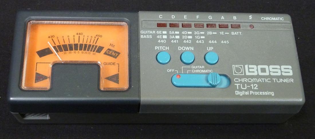 User Reviews Boss Tu 12 Chromatic Tuner Audiofanzine