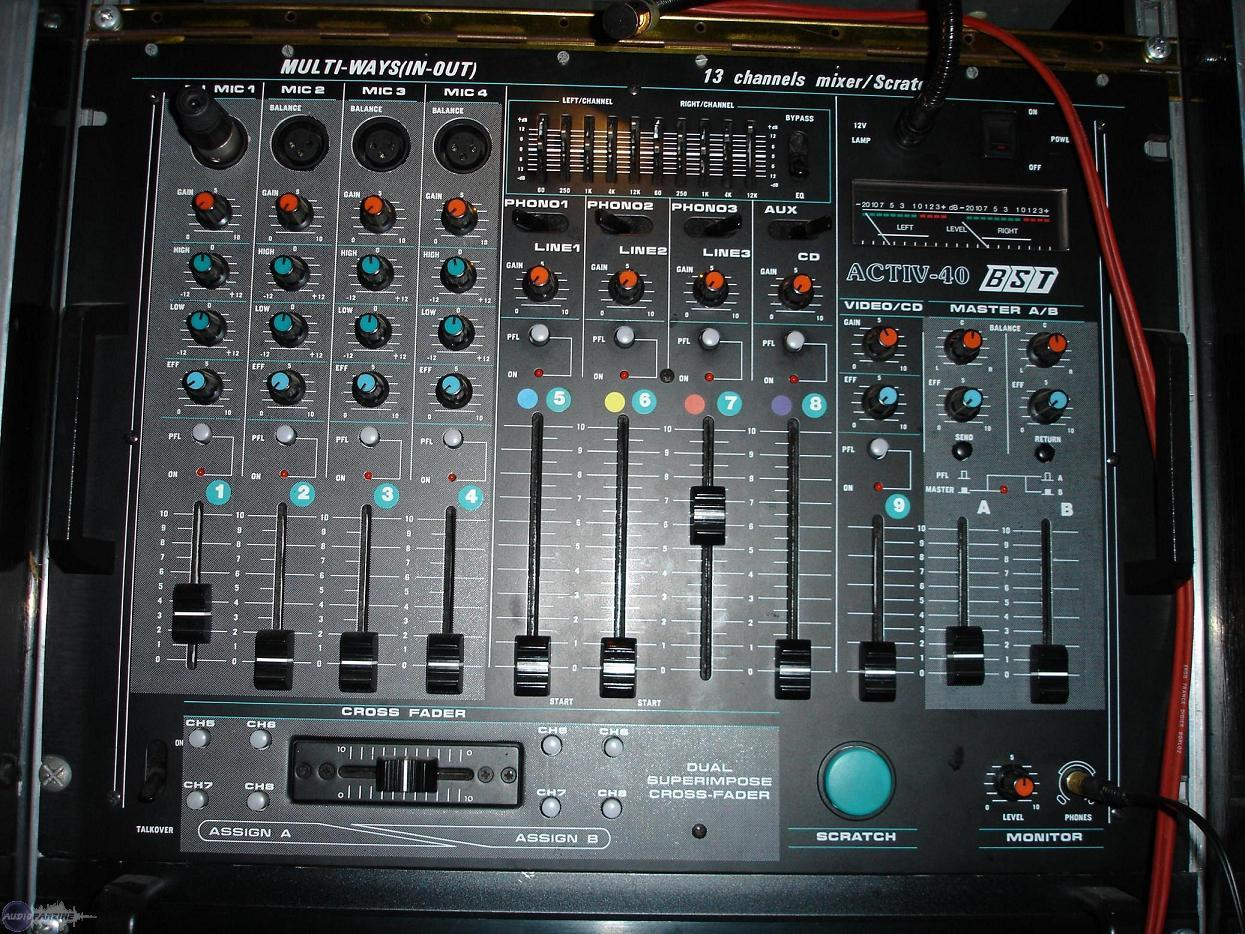 table de mixage bst