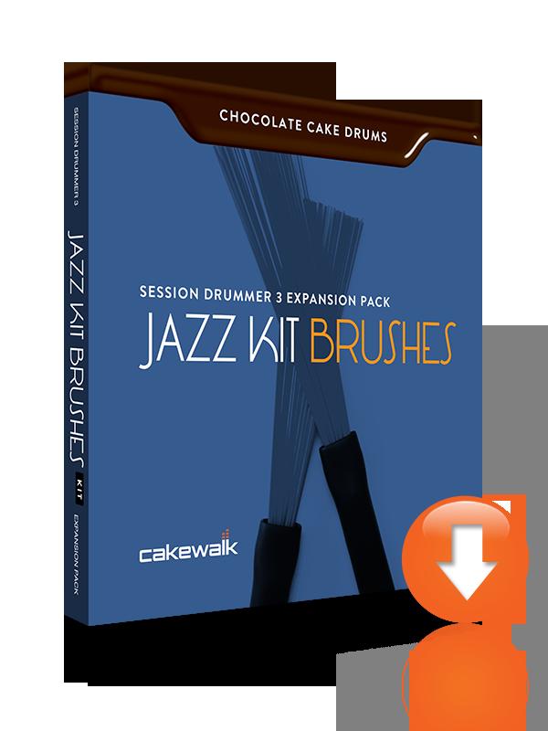 Videos Cakewalk Chocolate Cake Drums: Jazz Kit Brushes