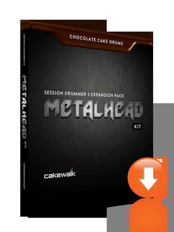 Videos Cakewalk Chocolate Cake Drums: MetalHead Kit
