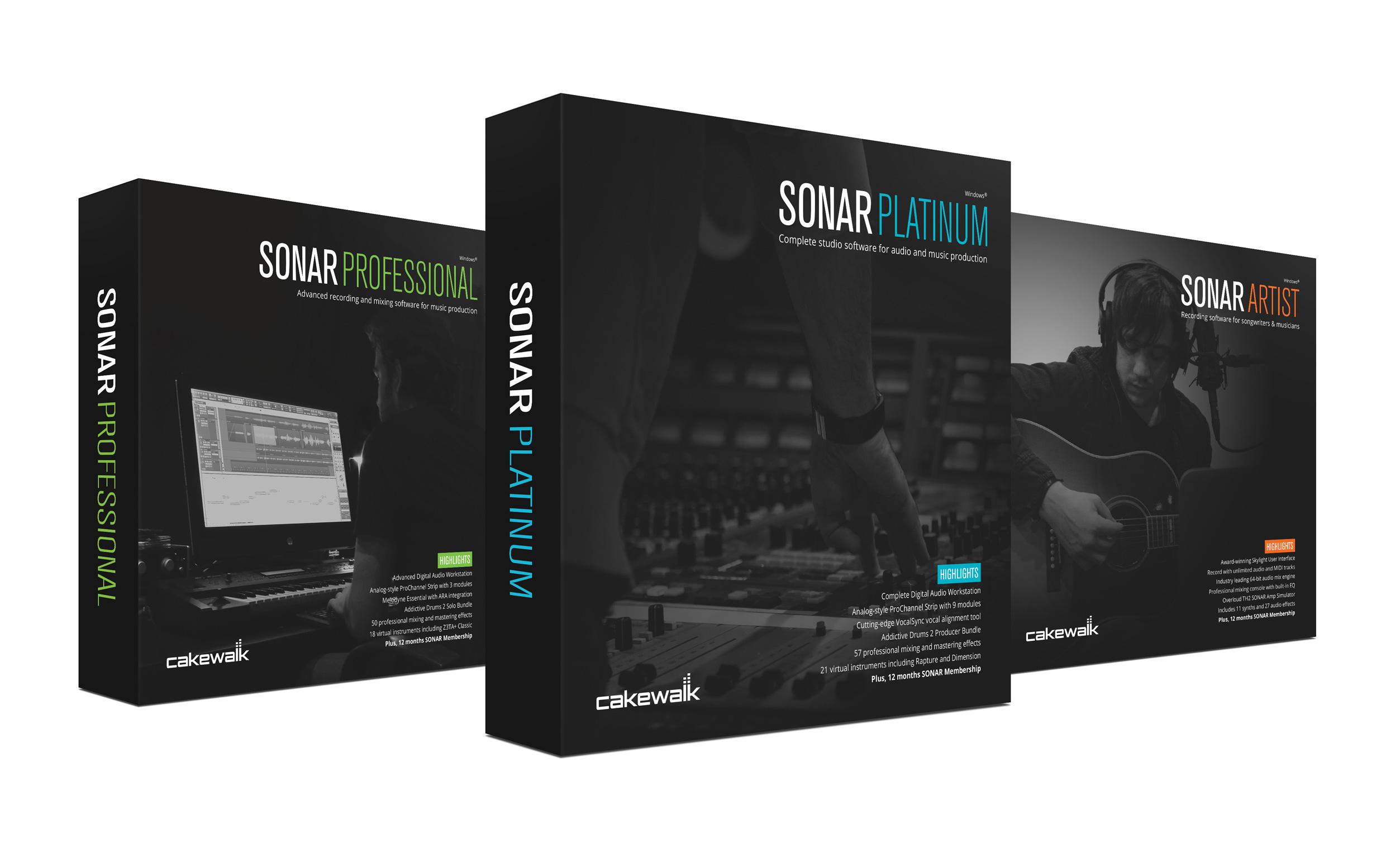 Des remises sur SONAR Platinum