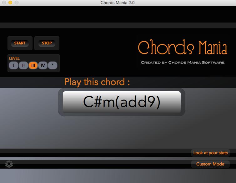 Chords Mania Software 20 News Audiofanzine