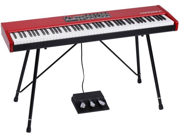 Nord piano clavia nord piano audiofanzine for Piano electrique