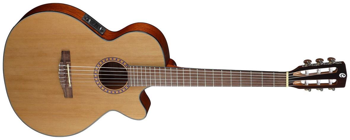 guitare acoustique manche fin