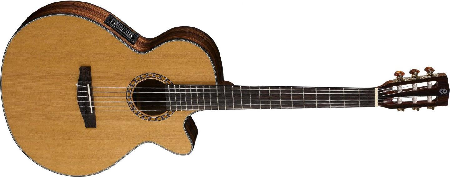 guitare classique a manche fin