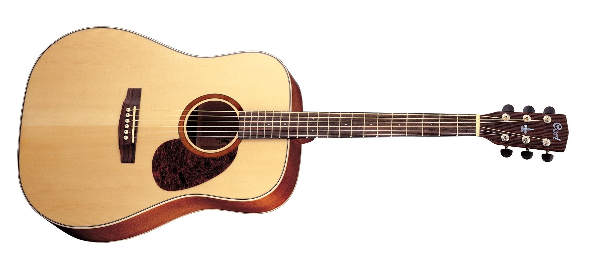 cort e100 guitare acoustique satine gaucher