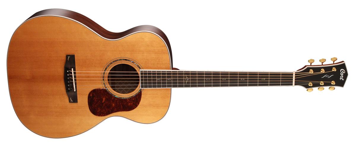 Cort dévoile la guitare acoustique Gold-O8
