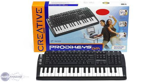 CREATIVE PRODIKEYS DM VALUE TREIBER