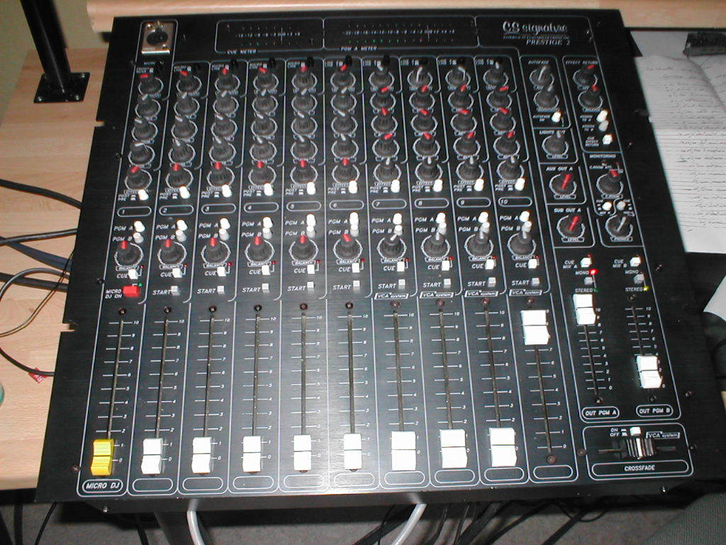 table de mixage cs signature