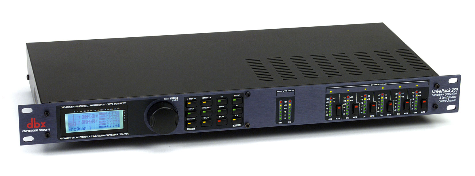 User Reviews Dbx Driverack 260 Audiofanzine