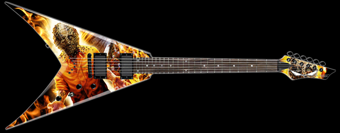pictures and images dean guitars dave mustaine vmnt end game audiofanzine. Black Bedroom Furniture Sets. Home Design Ideas