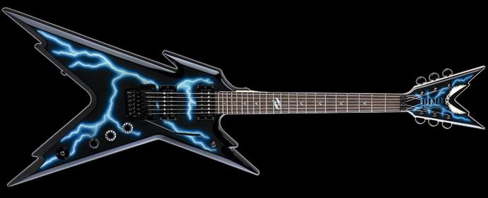 dean guitars dime razorback db floyd lightning image 1498662 audiofanzine. Black Bedroom Furniture Sets. Home Design Ideas