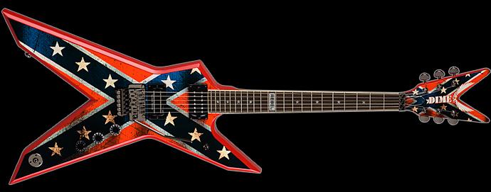 dean guitars dimebag dixie rebel image 925457 audiofanzine. Black Bedroom Furniture Sets. Home Design Ideas