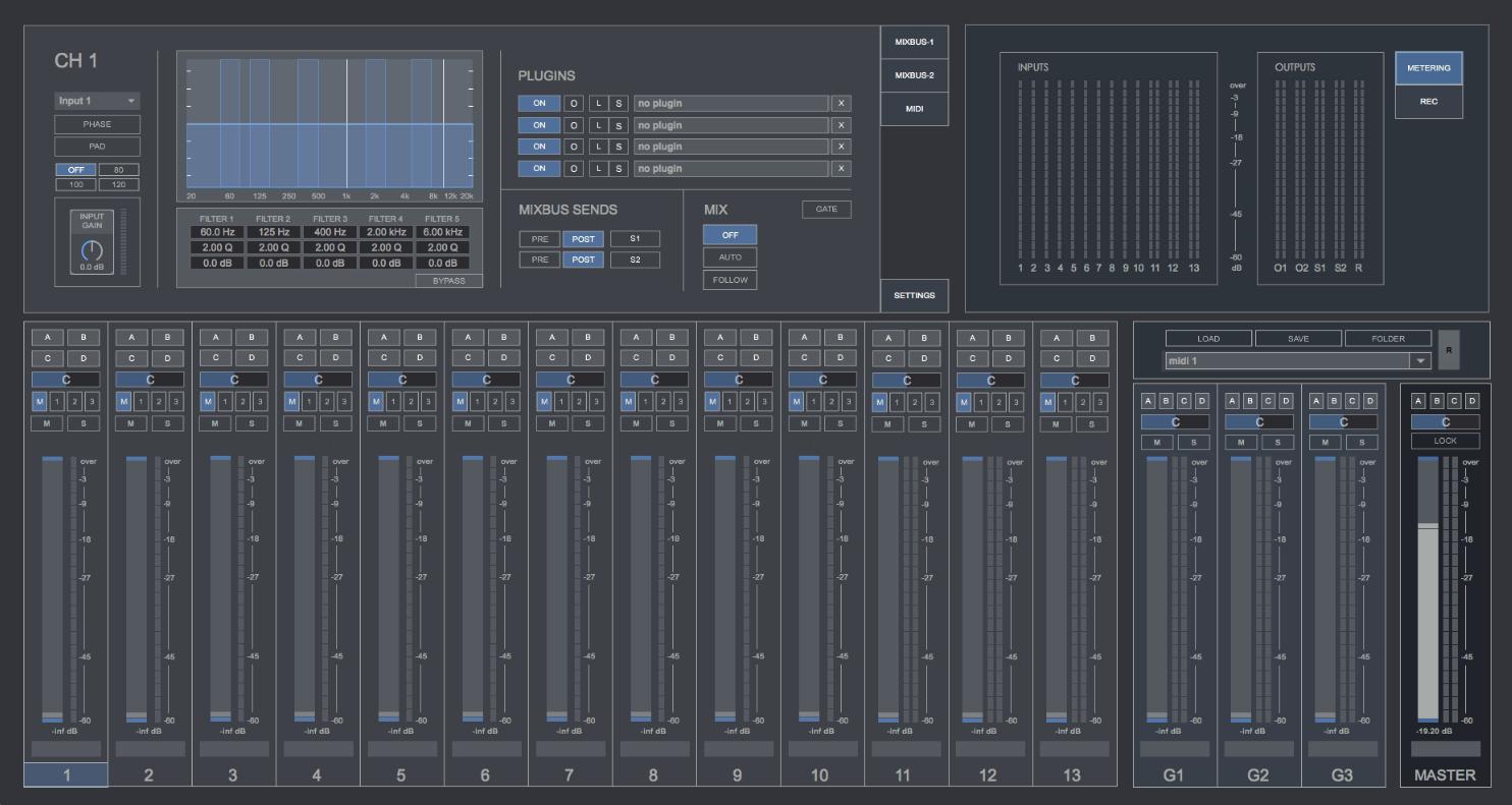 Console De Mixage Virtuelle Gratuite