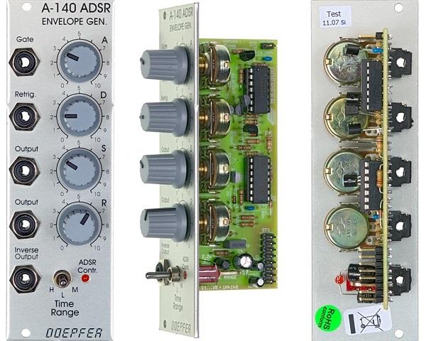 pictures and images doepfer a 140 adsr envelope generator audiofanzine. Black Bedroom Furniture Sets. Home Design Ideas