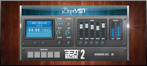 dopevst beat machine 2 0 video demo beat machine 2 dopevst rose off audiofanzine. Black Bedroom Furniture Sets. Home Design Ideas