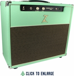 the surf is up reviews dr z amplification carmen ghia 1x12 combo surf green audiofanzine. Black Bedroom Furniture Sets. Home Design Ideas