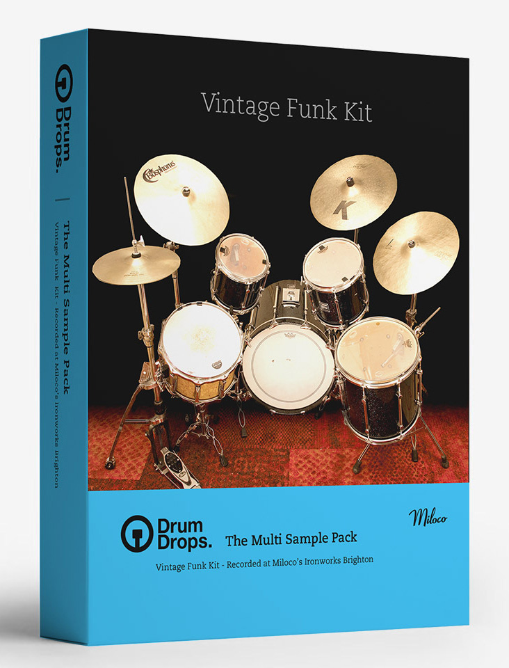 Drumdrops lance un kit Sonor de style funk 70s