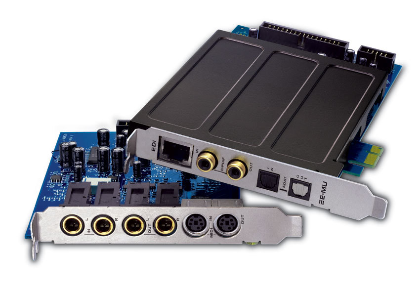 carte son pci express 1212m PCIe   E MU 1212m PCIe   Audiofanzine