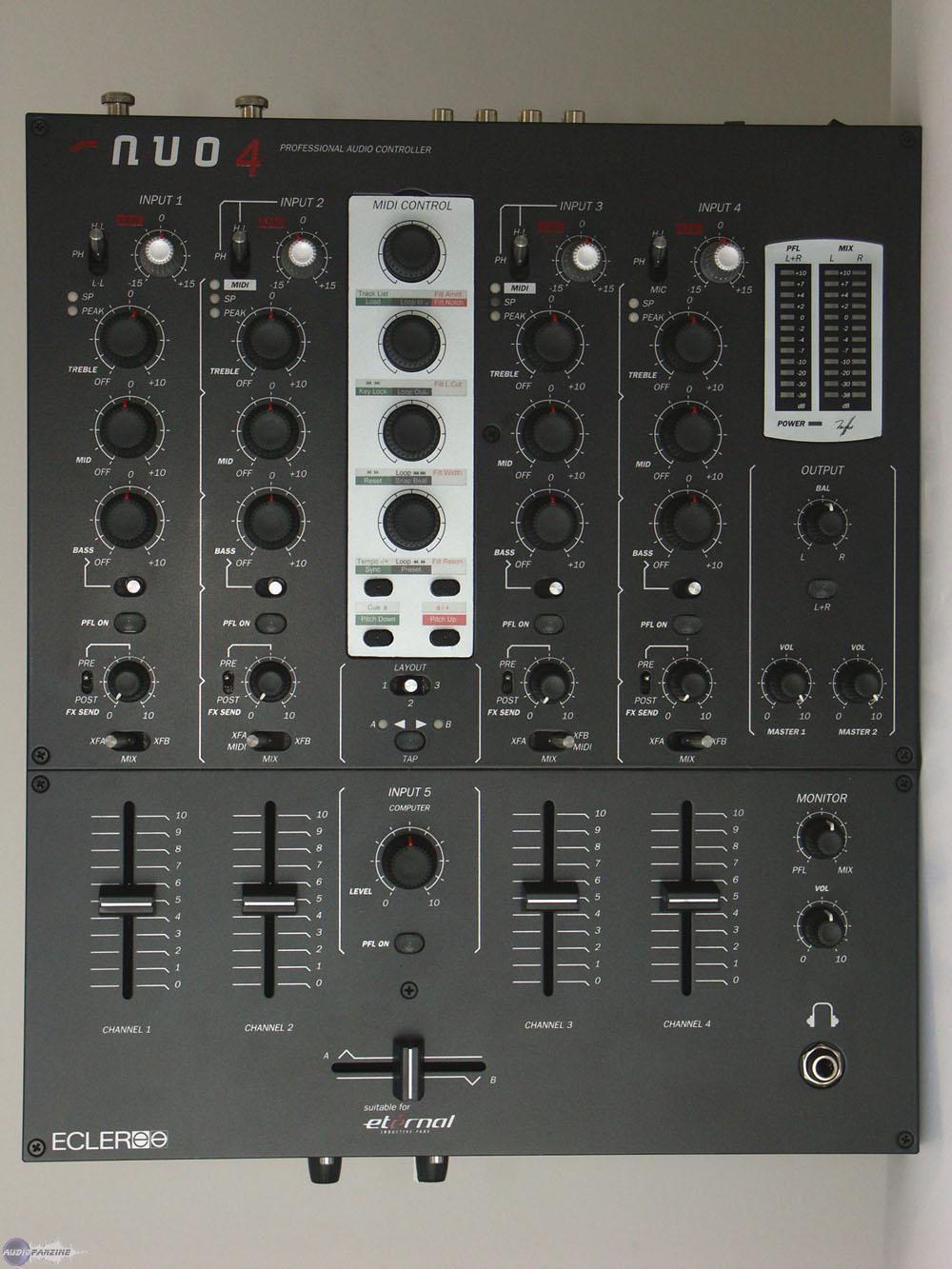 table de mixage ecler evo 5