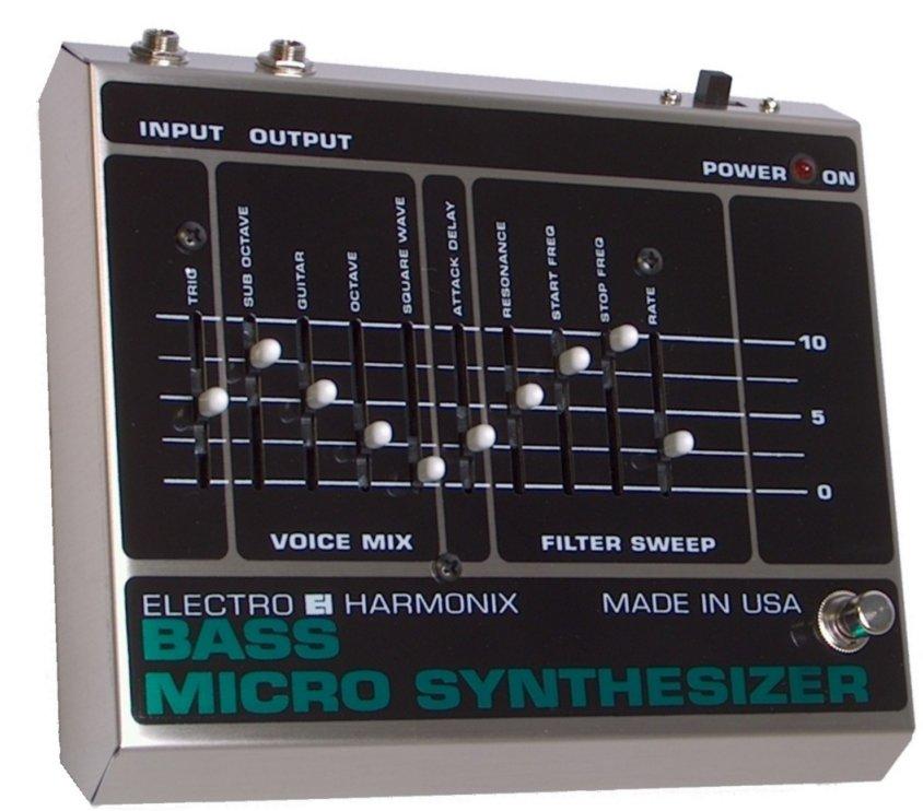 user reviews electro harmonix bass micro synthesizer original audiofanzine. Black Bedroom Furniture Sets. Home Design Ideas