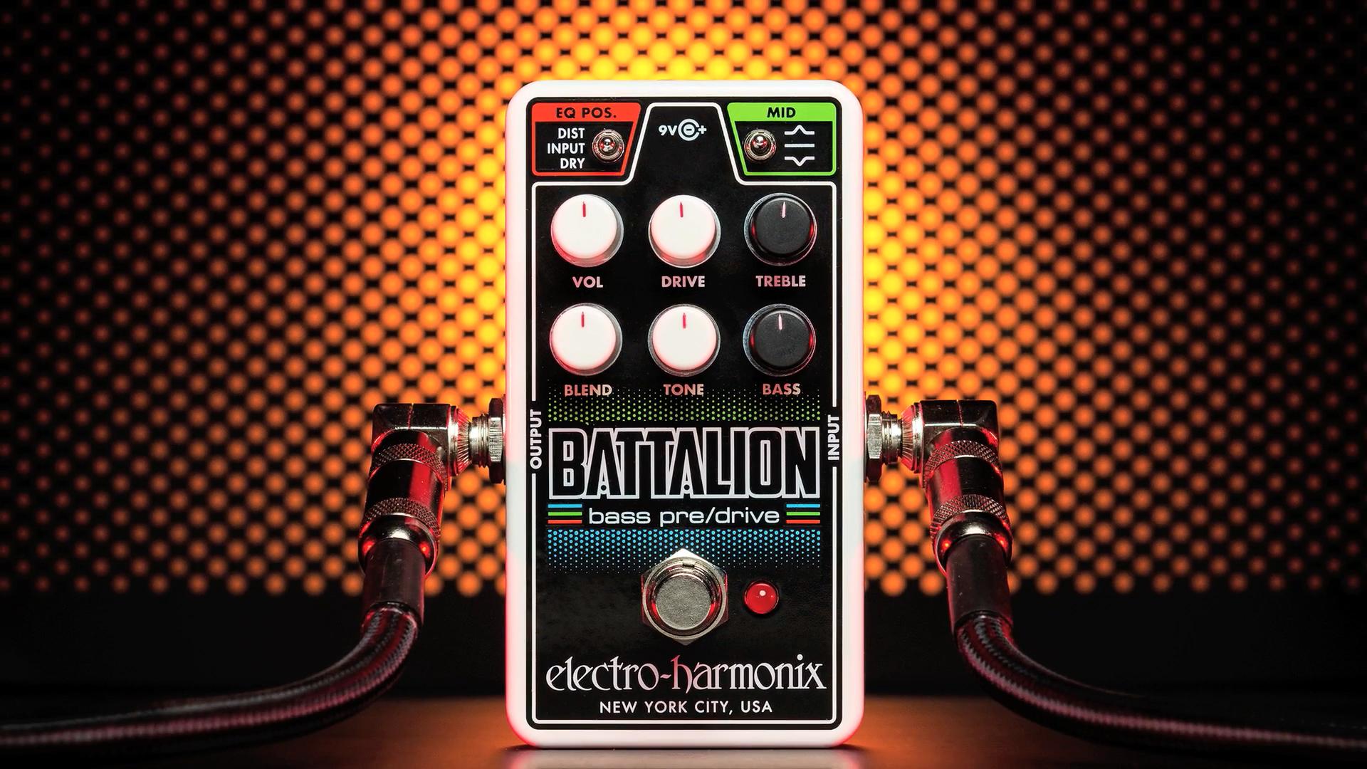 Electro-Harmonix dévoile la Nano Battalion