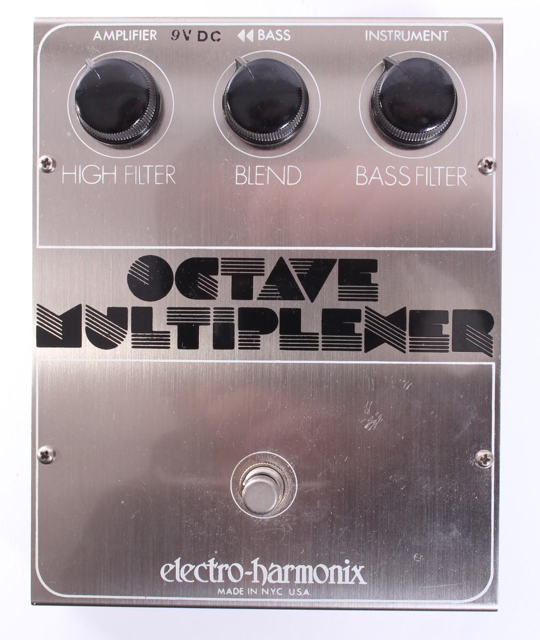 octave multiplexer electro harmonix octave multiplexer audiofanzine. Black Bedroom Furniture Sets. Home Design Ideas