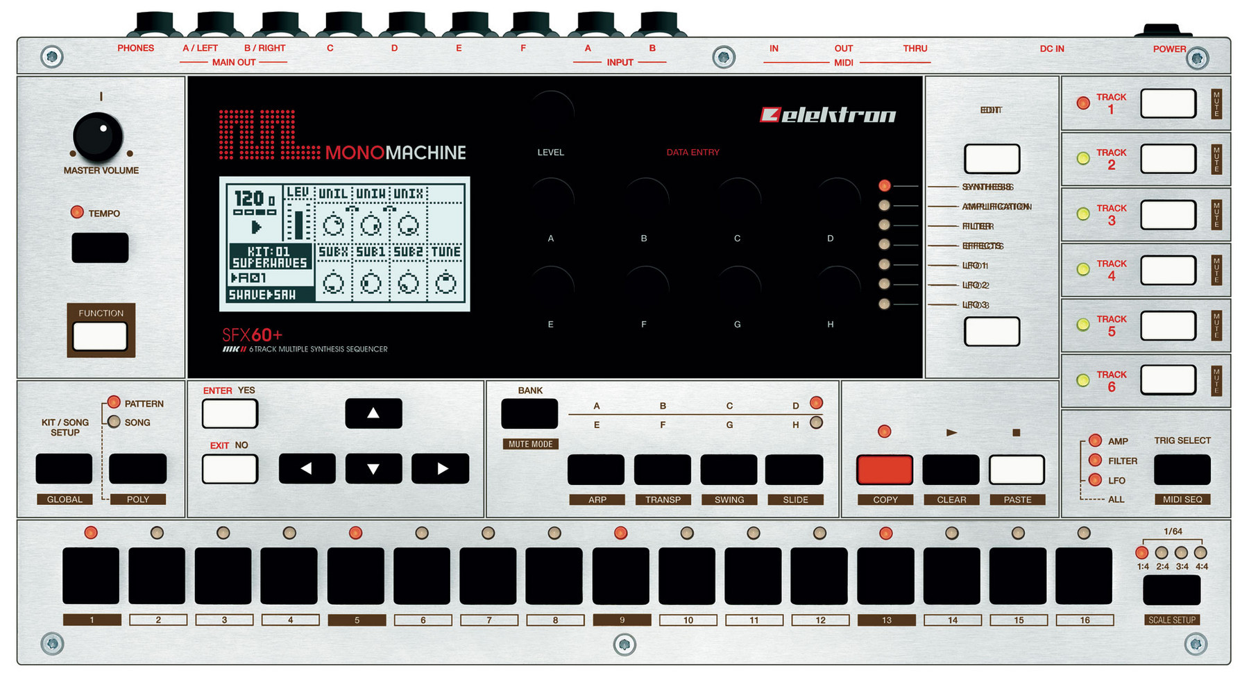 Elektron monomachine sfx60+ mkii
