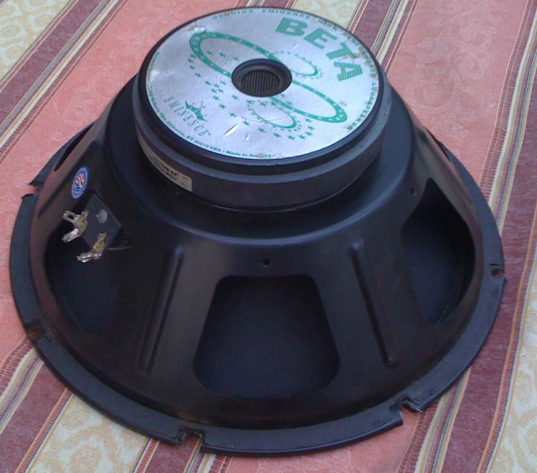 eminence beta 12a image 1410698 audiofanzine. Black Bedroom Furniture Sets. Home Design Ideas