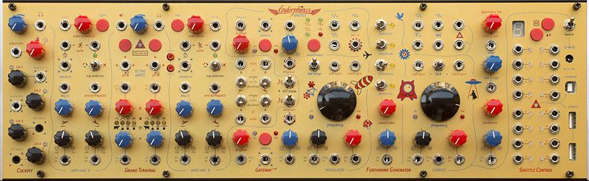 syst u00e8me de synth u00e8se modulaire analogique et num u00e9rique
