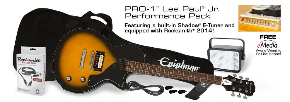 Gagnez un pack Epiphone PRO-1 Les Paul Performance