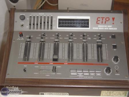 table de mixage etp
