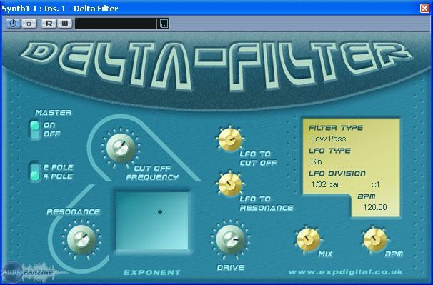 vst plugin filtre gratuit:Delta Filter