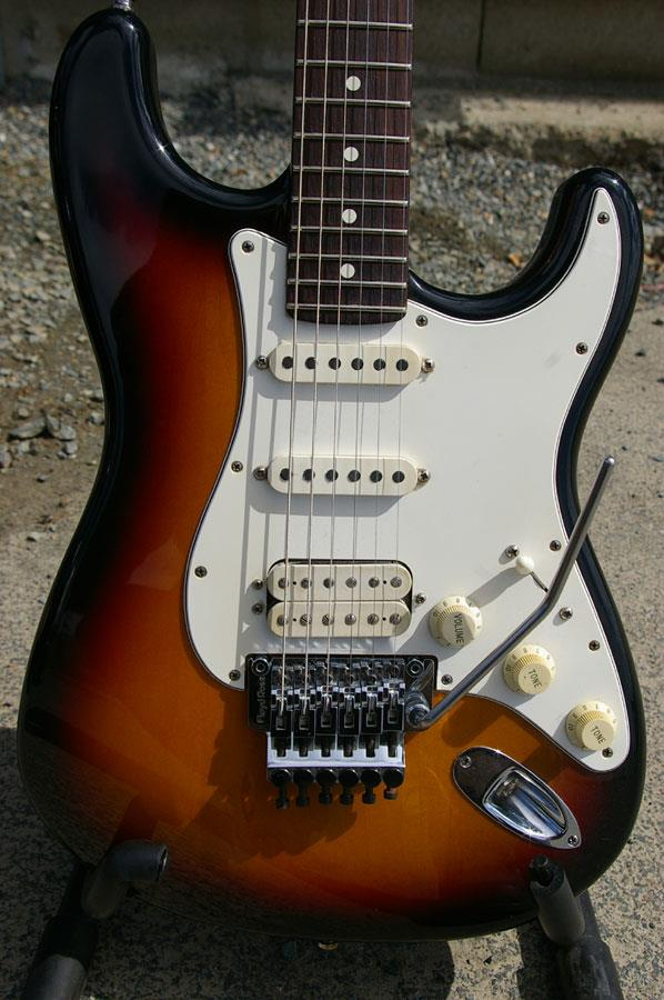 Fender American Standard Stratocaster Hss Floyd Rose  1994