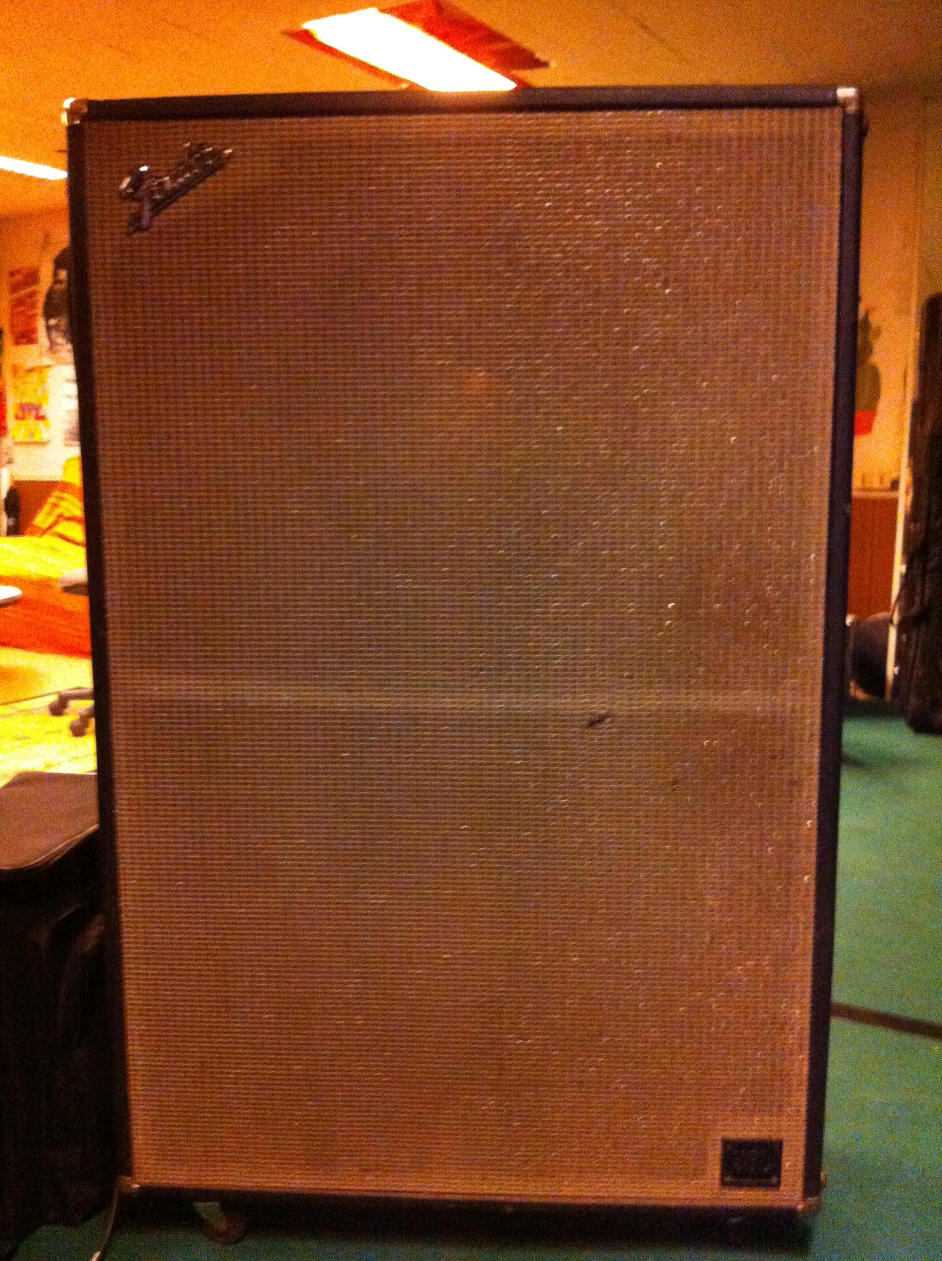fender bassman  cabinet  image  audiofanzine