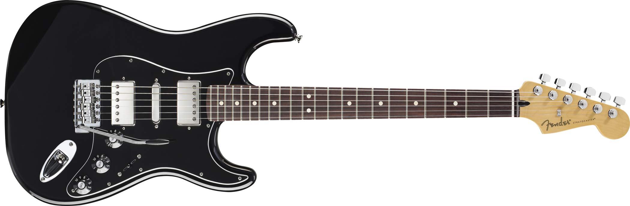 BLACKTOP STRATOCASTER HSH - Fender Blacktop Stratocaster HSH ...