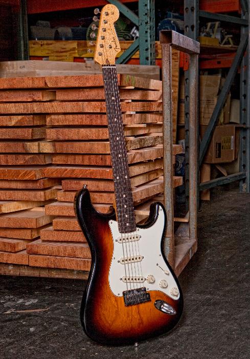 Fender Custom Shop 2012 Closet Classic Stratocaster Pro