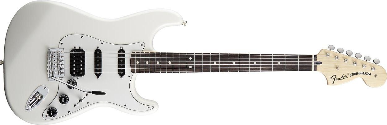 Avis d\'utilisateurs : Fender Deluxe Fat Strat - Audiofanzine