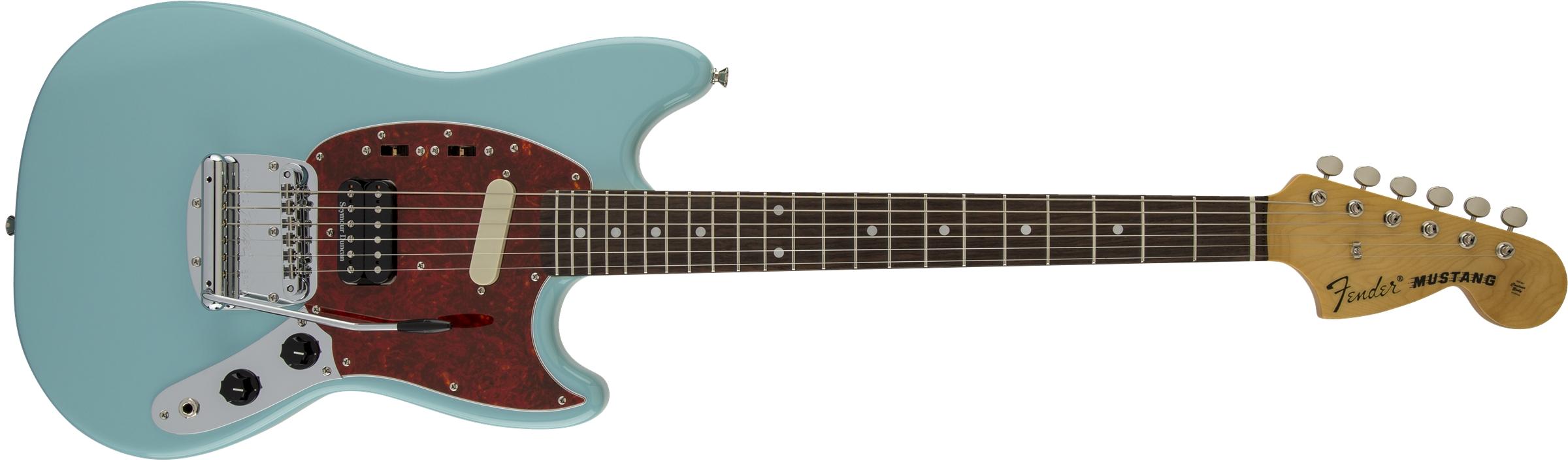 kurts preferred live guitar reviews fender kurt cobain mustang audiofanzine. Black Bedroom Furniture Sets. Home Design Ideas