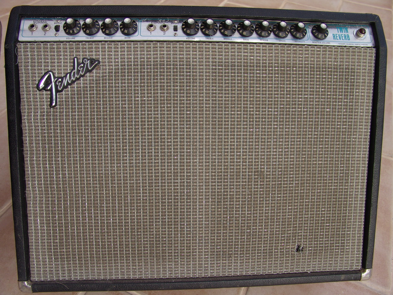 Fender Twin Reverb Silverface 1968 1982