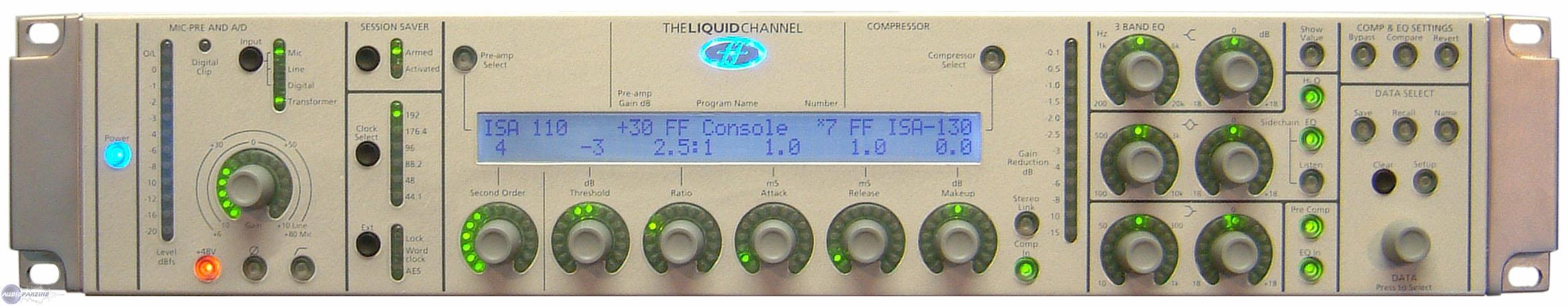 Avis Dutilisateurs Focusrite Liquid Channel Audiofanzine Simulation D39un Circuit Purementanalogique