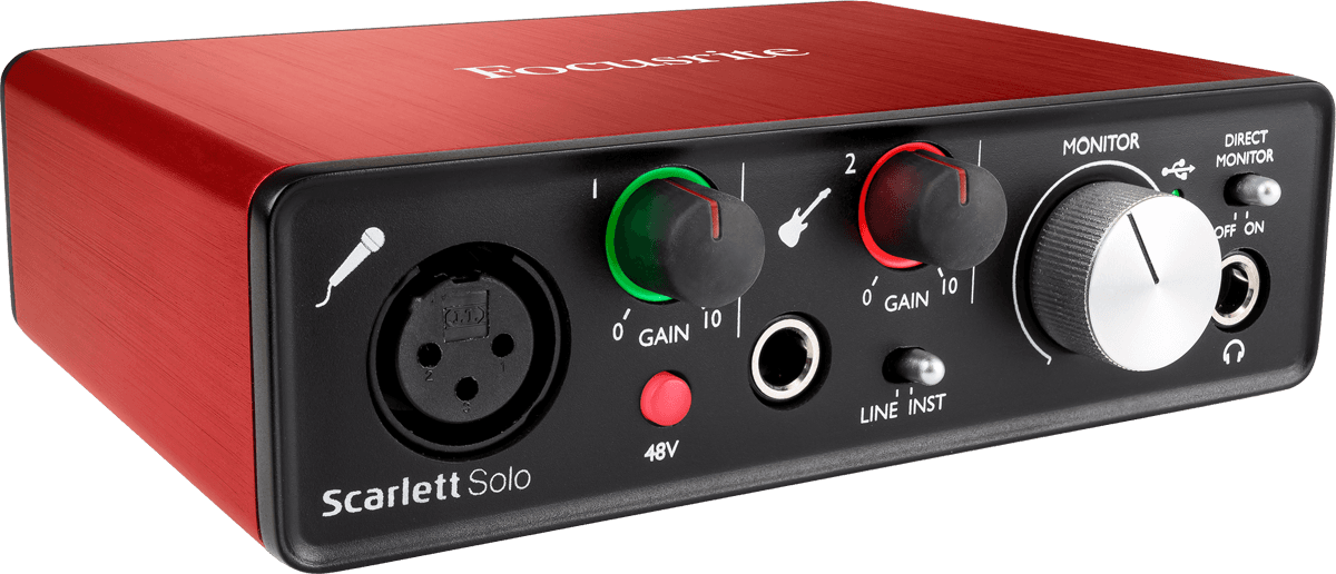 Need help routing Focusrite Solo 2nd Gen, Reaper, and