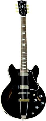 Gibson es 390 plain ebony