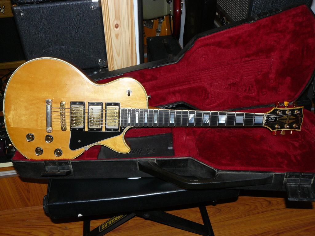 Les Paul Custom 1977 Gibson Les Paul Custom 1977 Audiofanzine