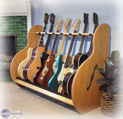 Amazing Guitarstorage.com Session Deluxe Guitar Rack