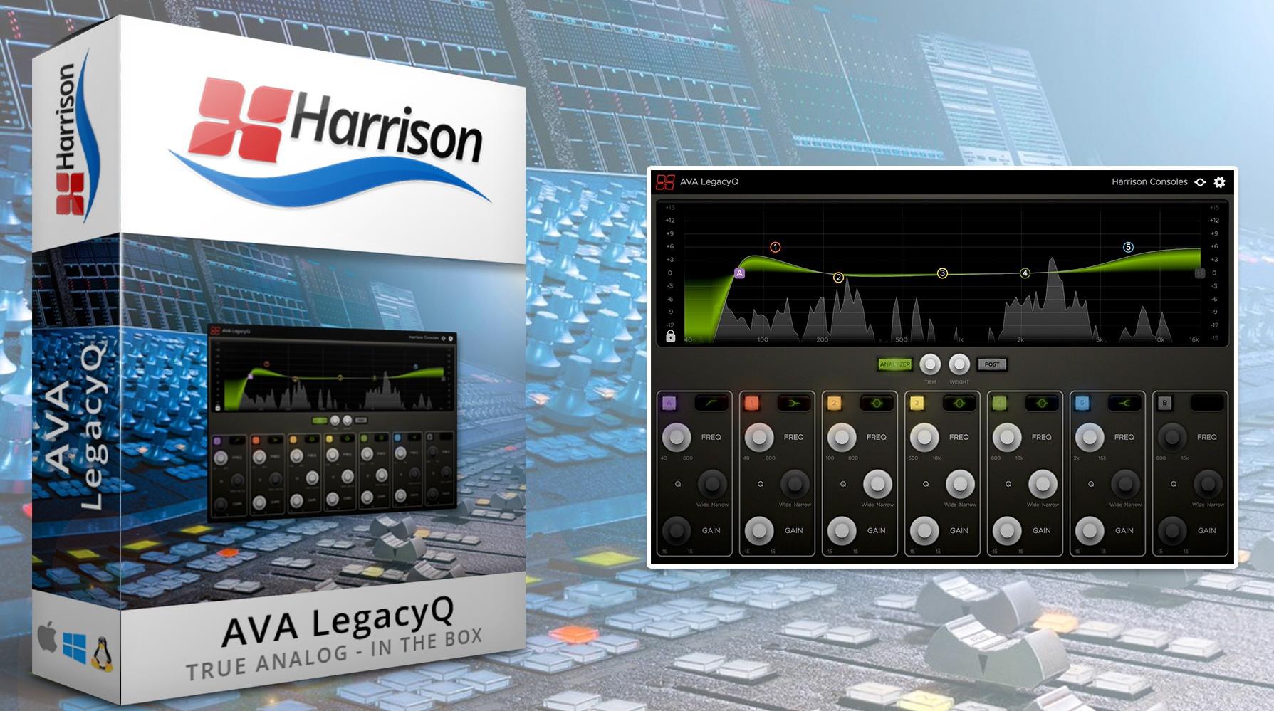 AVA LegacyQ en promo chez Harrison Consoles